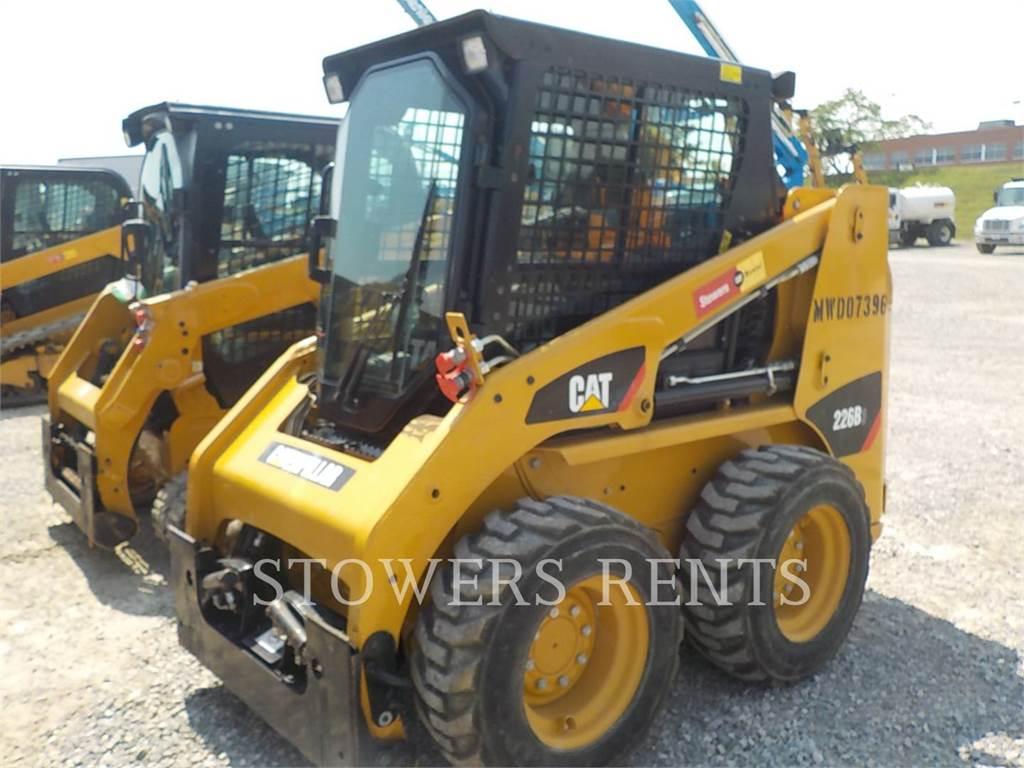 Caterpillar 226B3 CAB, Skid Steer Loaders, Construction
