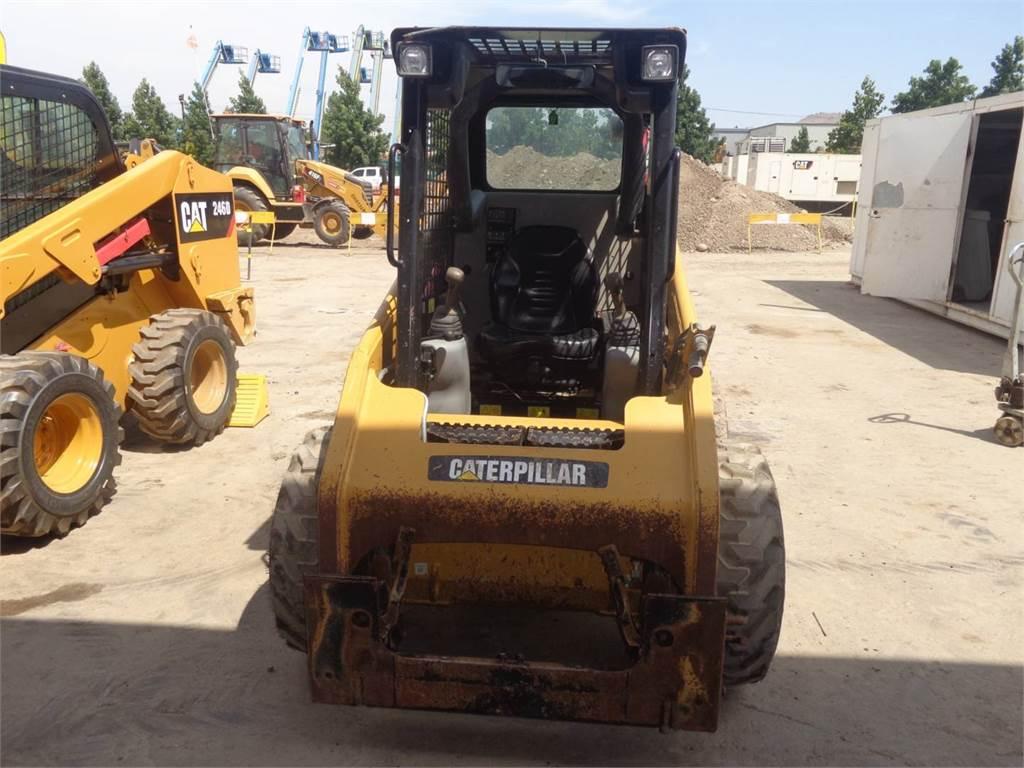 Caterpillar 226B3LRC, Minicargadoras, Construcción