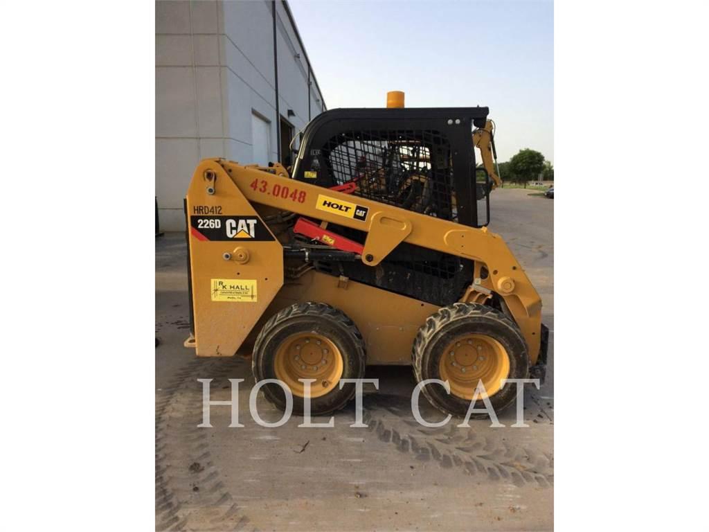 Caterpillar 226D, Mini incarcator, Constructii