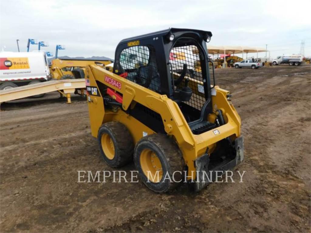Caterpillar 226D, Carregadoras de direcção deslizante, Equipamentos Construção