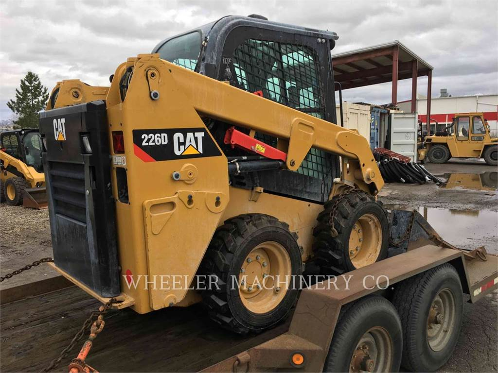 Caterpillar 226D C3, Skid Steer Loaders, Construction