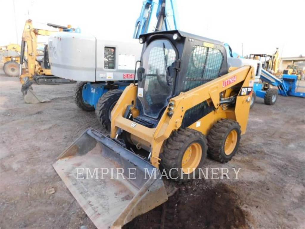 Caterpillar 226D CA, Carregadoras de direcção deslizante, Equipamentos Construção