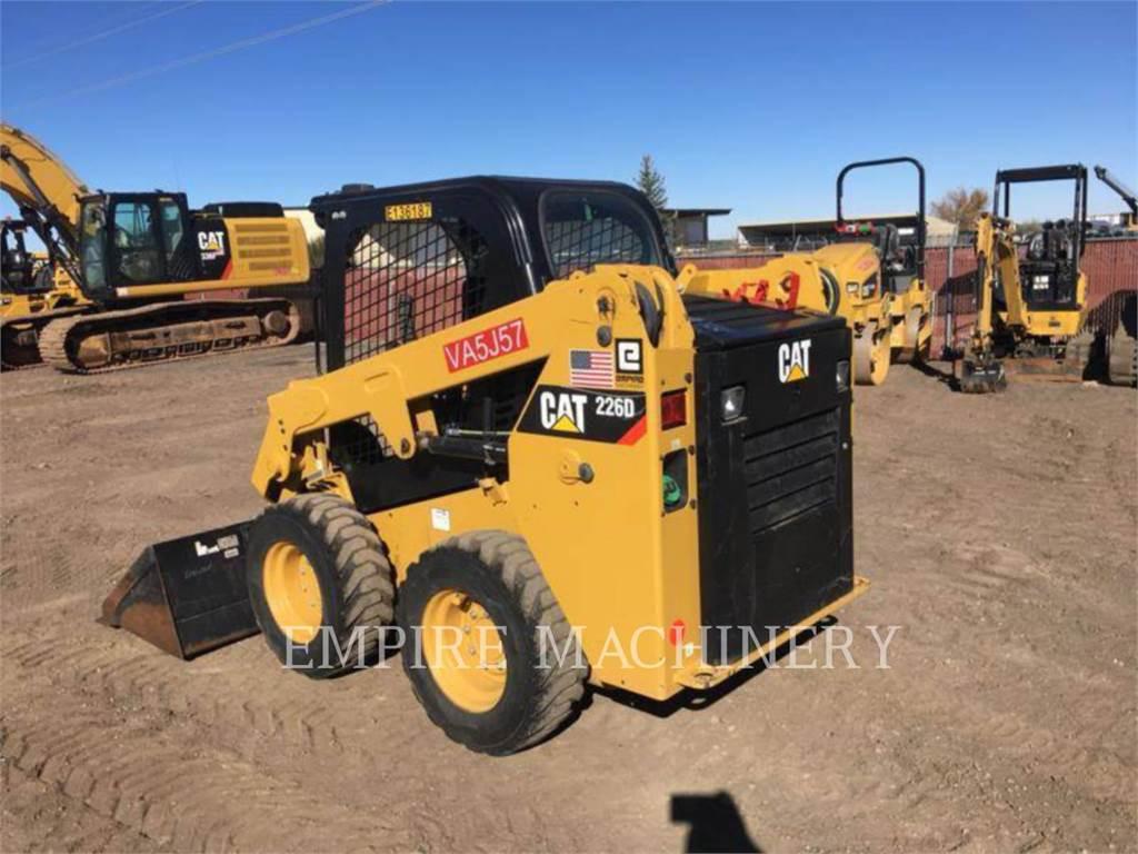 Caterpillar 226D、滑移装载机、建筑设备