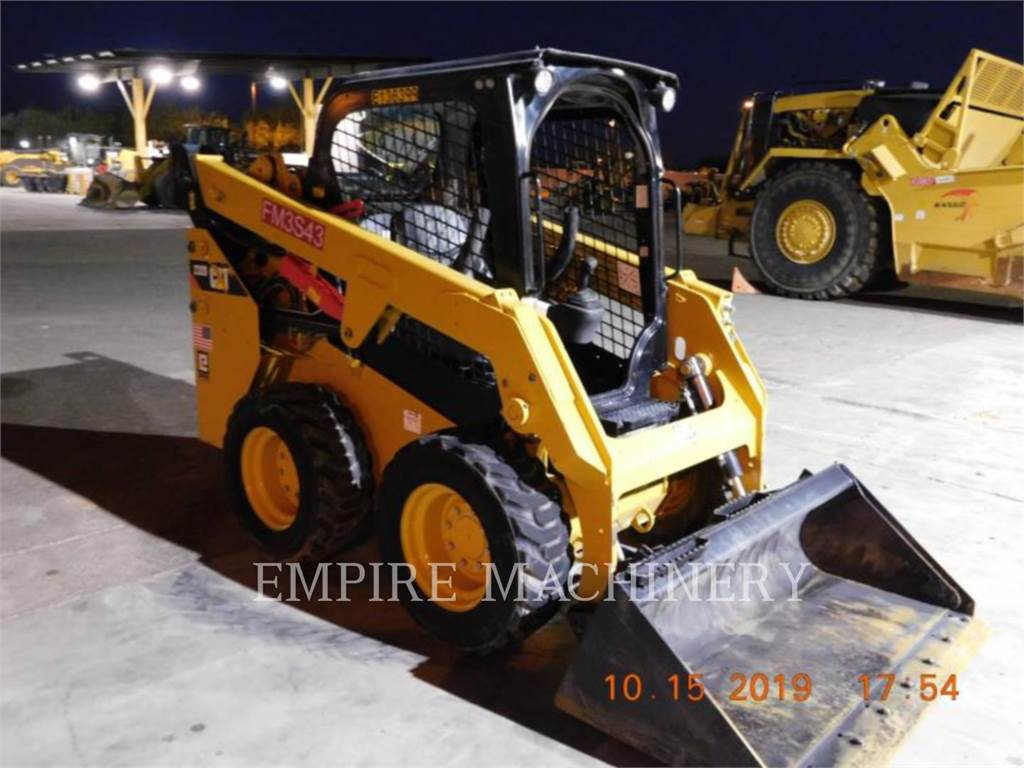 Caterpillar 232D, Chargeuse compacte, Équipement De Construction