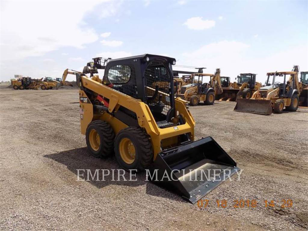 Caterpillar 232D, Skid Steer Loaders, Construction