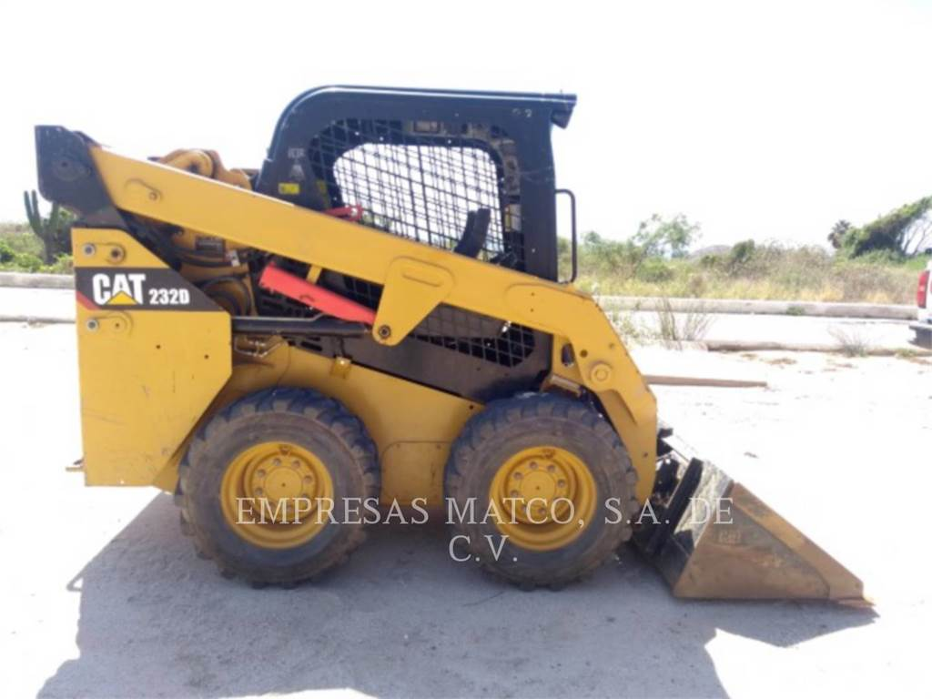 Caterpillar 232DLRC, Skid Steer Loaders, Construction