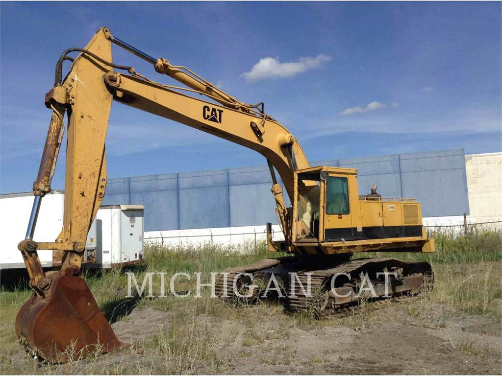 Caterpillar 235C, Crawler Excavators, Construction
