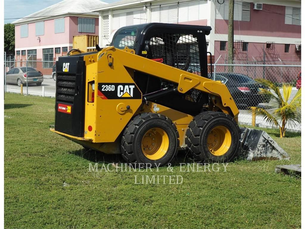 Caterpillar 236 D, Carregadoras de direcção deslizante, Equipamentos Construção
