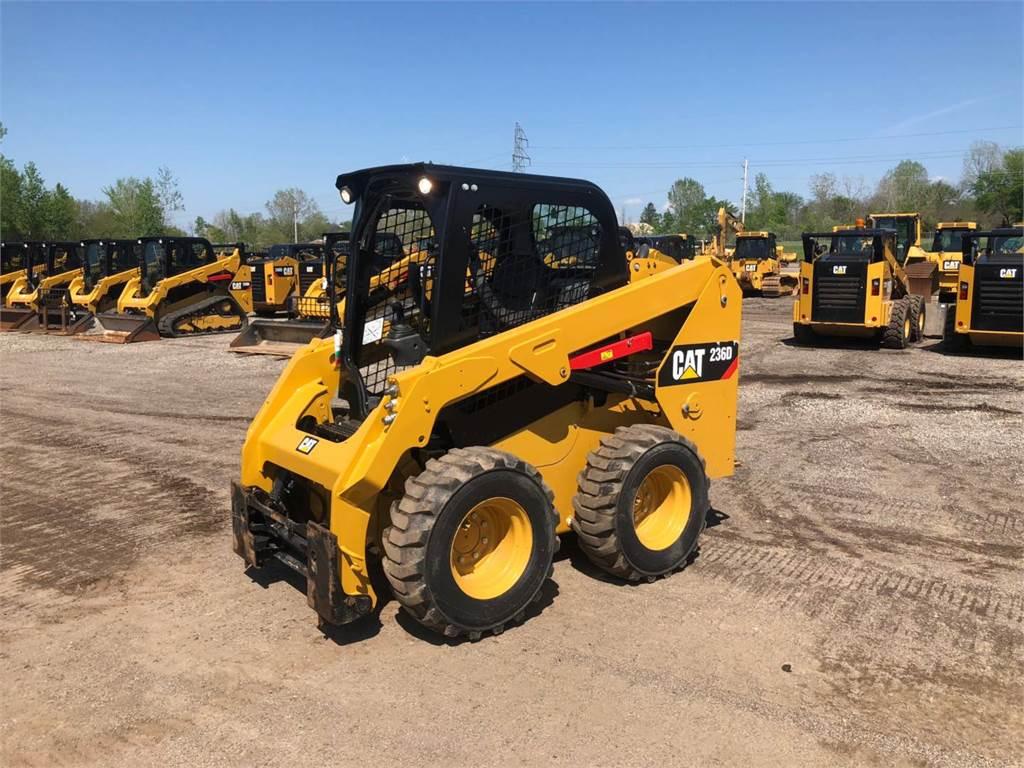 Caterpillar 236 D, Kompaktlader, Bau-Und Bergbauausrüstung