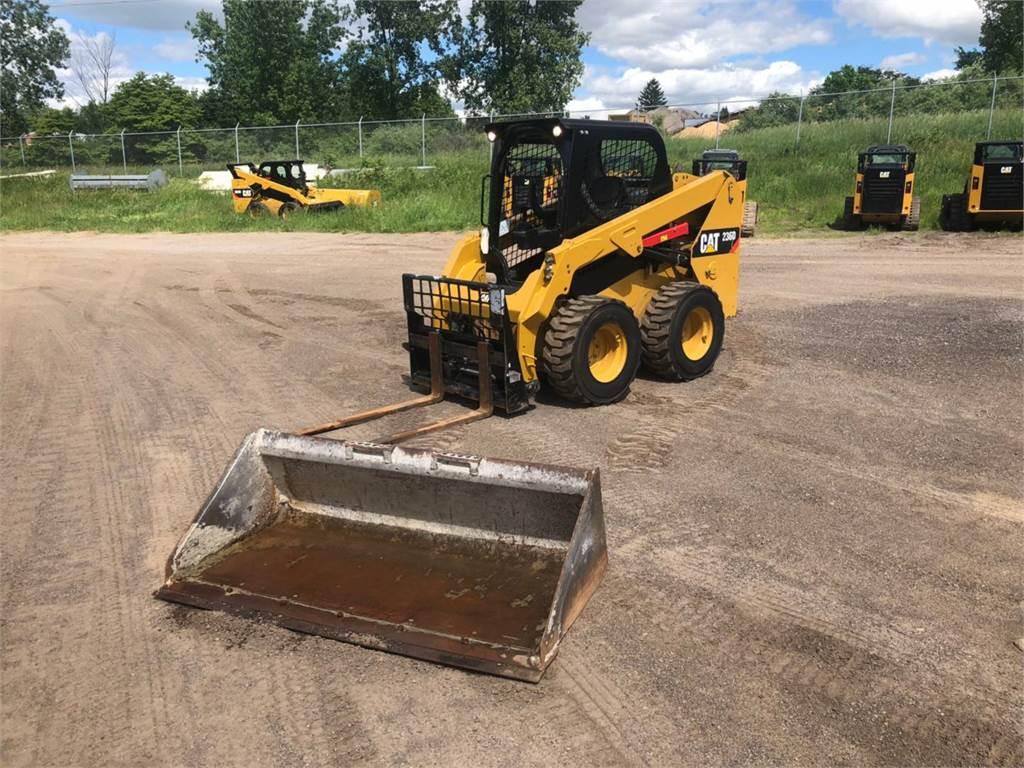 Caterpillar 236 D, Skid Steer Loaders, Construction