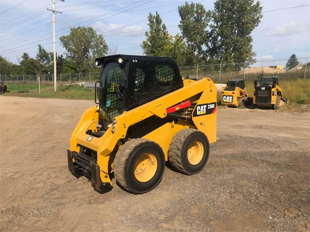 Caterpillar 236 D, Chargeuse compacte, Équipement De Construction