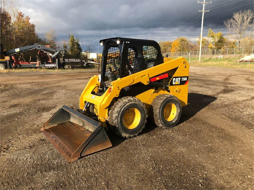 Caterpillar 236 D, Skid Steer Loaders, Construction