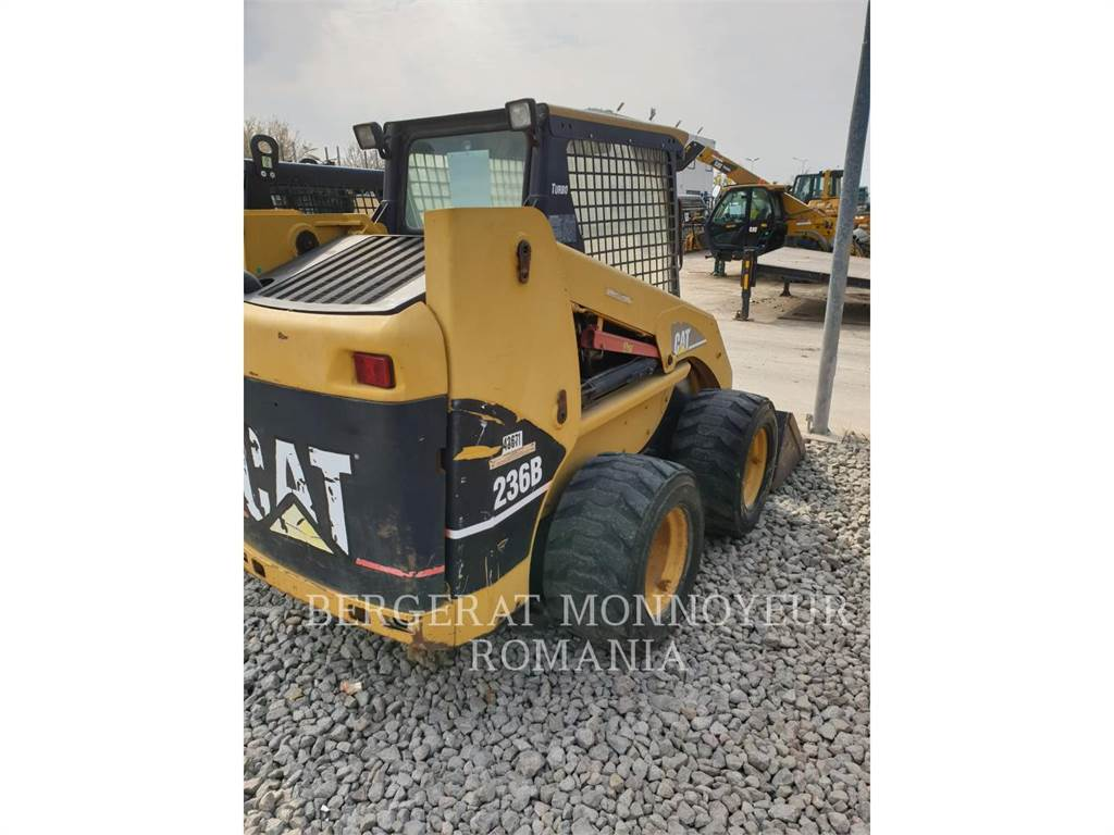 Caterpillar 236B, Skid Steer Loaders, Construction