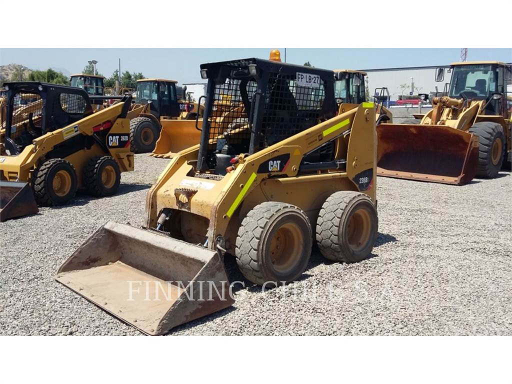 Caterpillar 236B3, Skid Steer Loaders, Construction