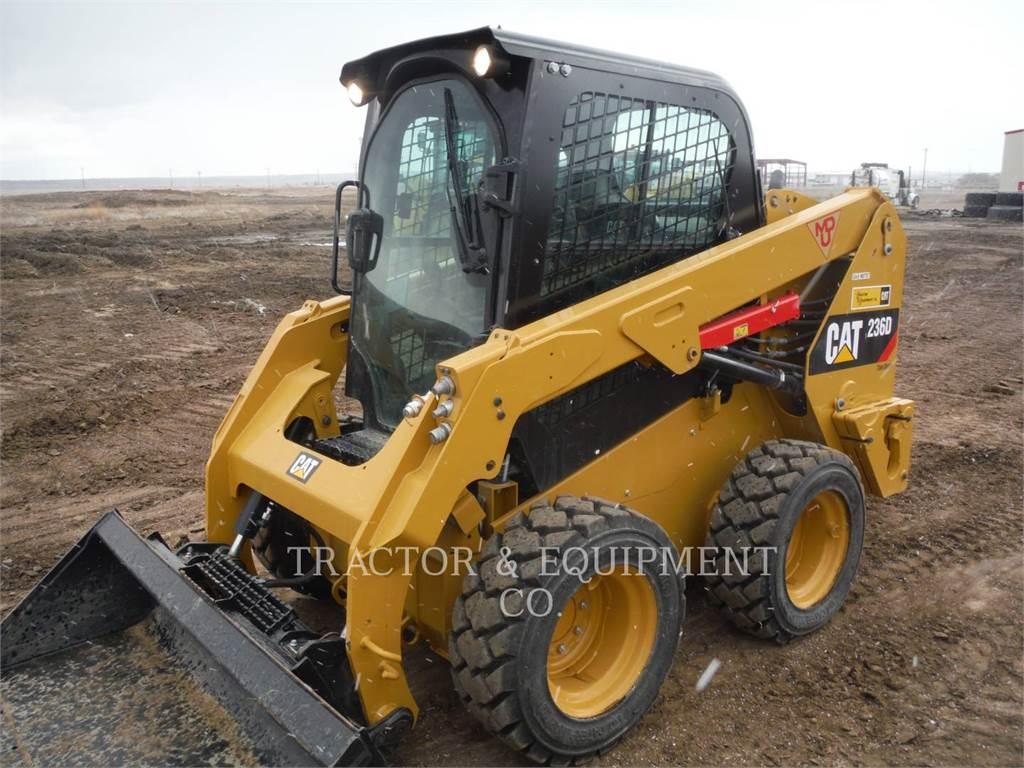 Caterpillar 236D, Mini ładowarki, Sprzęt budowlany