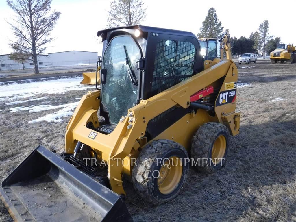 Caterpillar 236D, Chargeuse compacte, Équipement De Construction