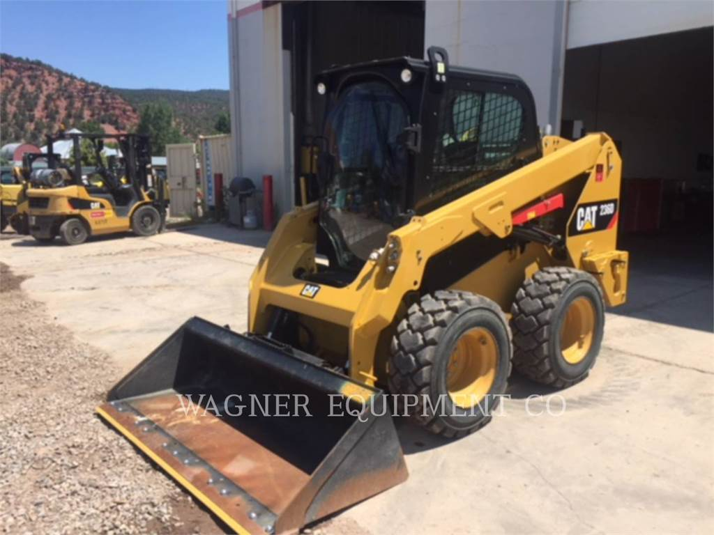Caterpillar 236D, Skid Steer Loaders, Construction