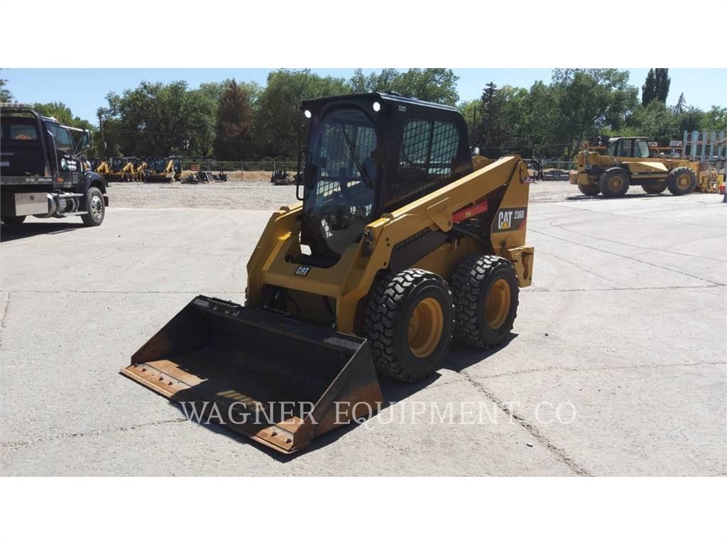 Caterpillar 236D, Mini incarcator, Constructii