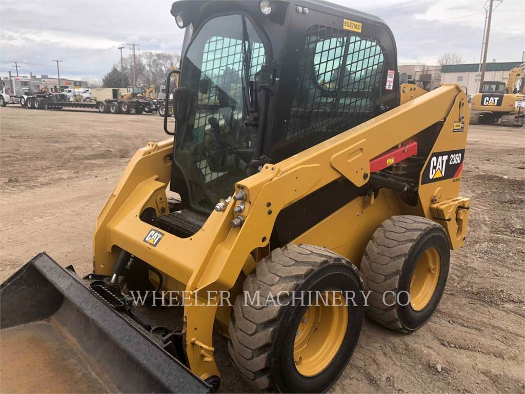 Caterpillar 236D C3 2S, Skid Steer Loaders, Construction