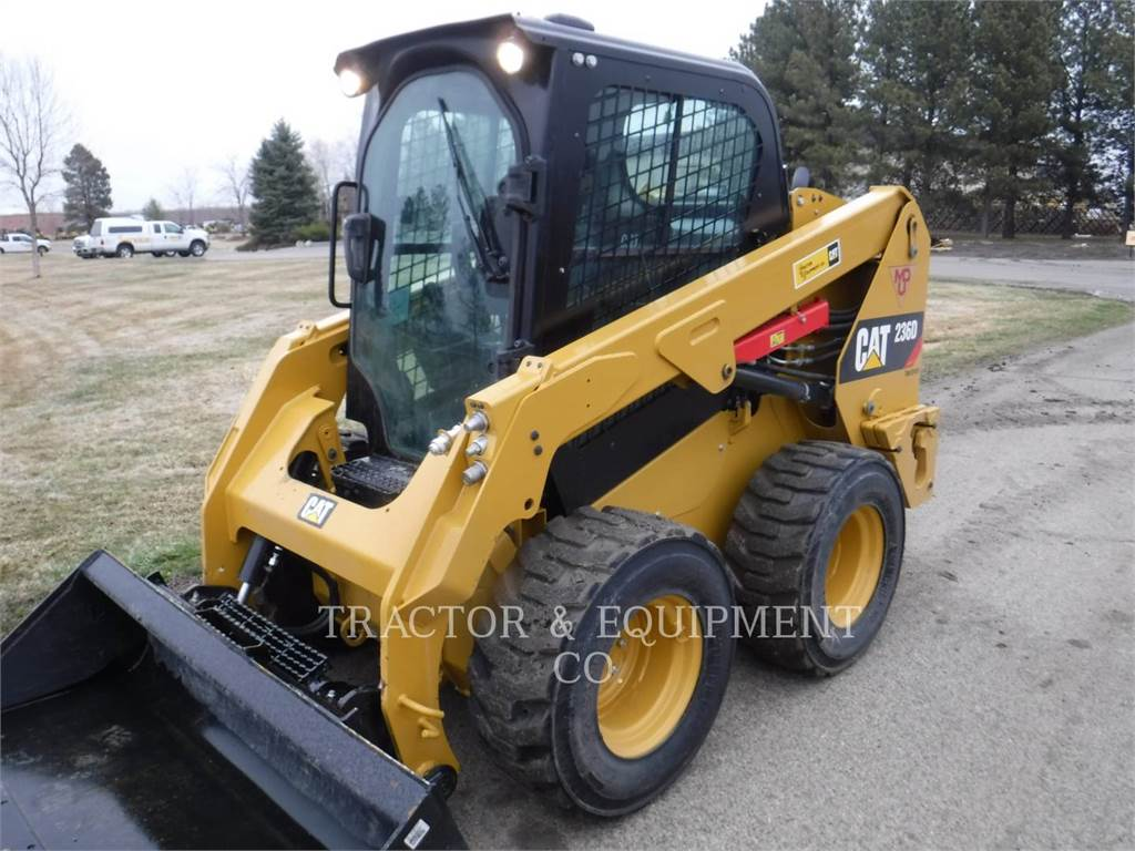 Caterpillar 236D H2CB, Skid Steer Loaders, Construction