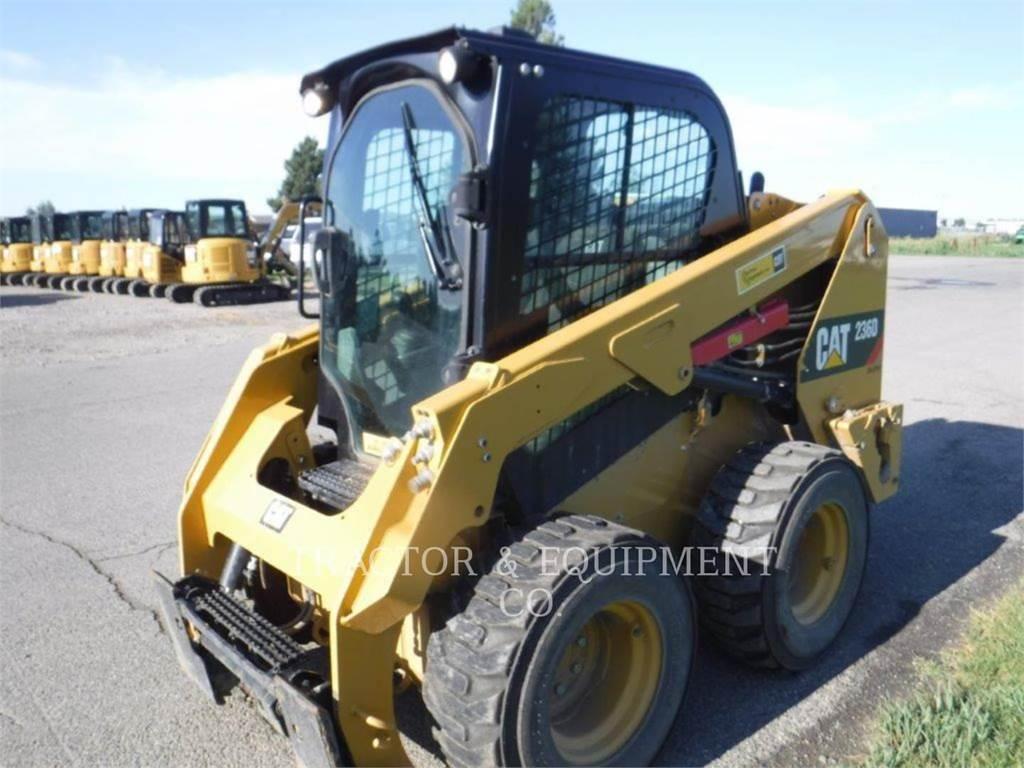 Caterpillar 236D H2CB, Carregadoras de direcção deslizante, Equipamentos Construção
