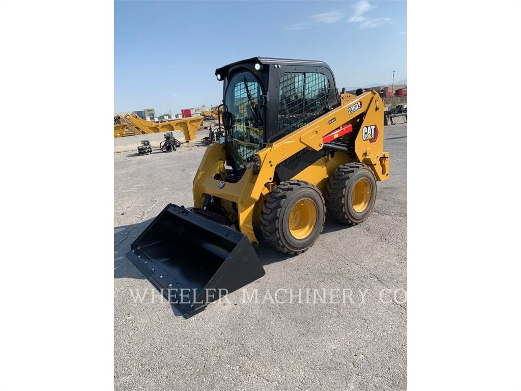 Caterpillar 236D3 C3H2, Skid Steer Loaders, Construction