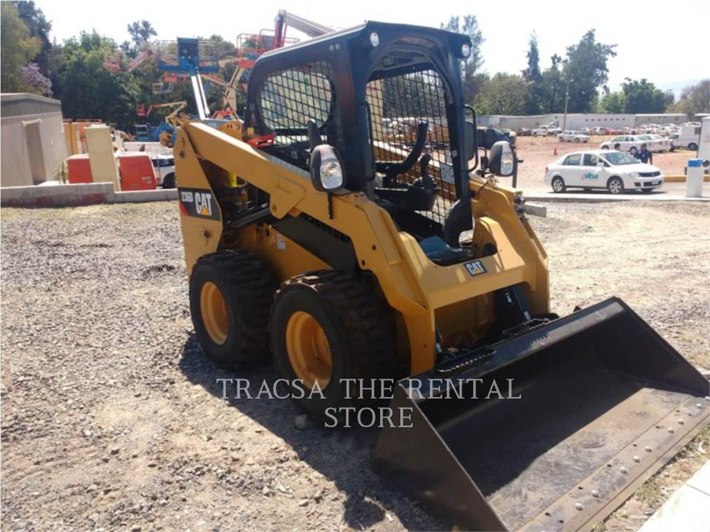 Caterpillar 236DLRC, Skid Steer Loaders, Construction