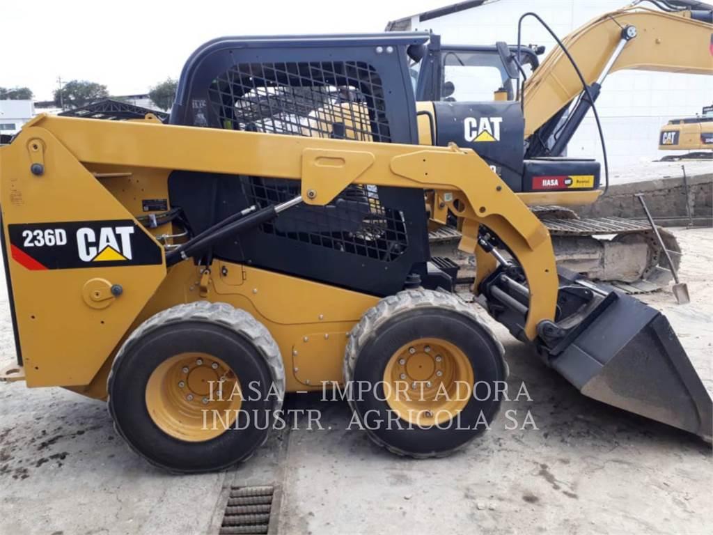 Caterpillar 236DLRC, Mini ładowarki, Sprzęt budowlany