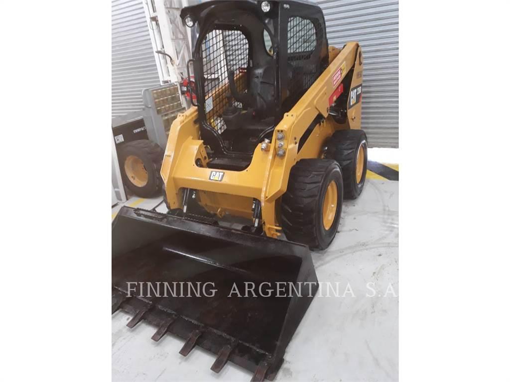 Caterpillar 236DLRC, Carregadoras de direcção deslizante, Equipamentos Construção