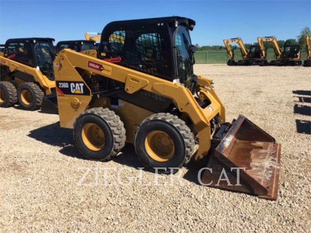 Caterpillar 236DS, Skid Steer Loaders, Construction