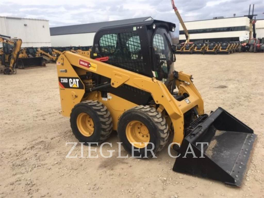 Caterpillar 236DSR, Skid Steer Loaders, Construction