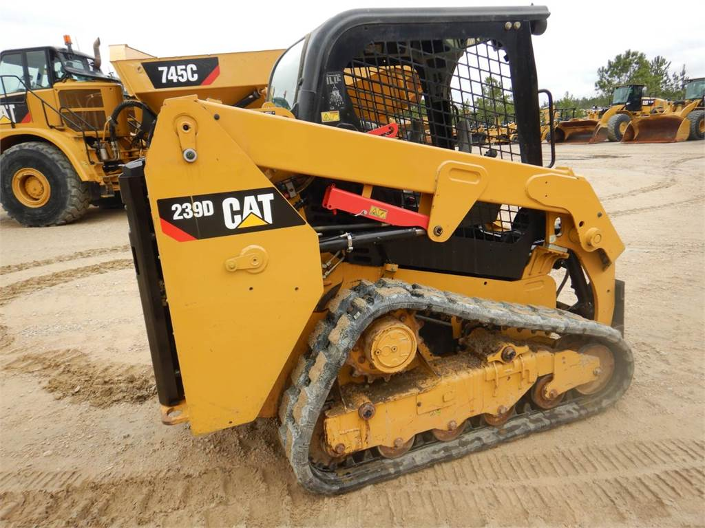 Caterpillar 239 D, Skid Steer Loaders, Construction