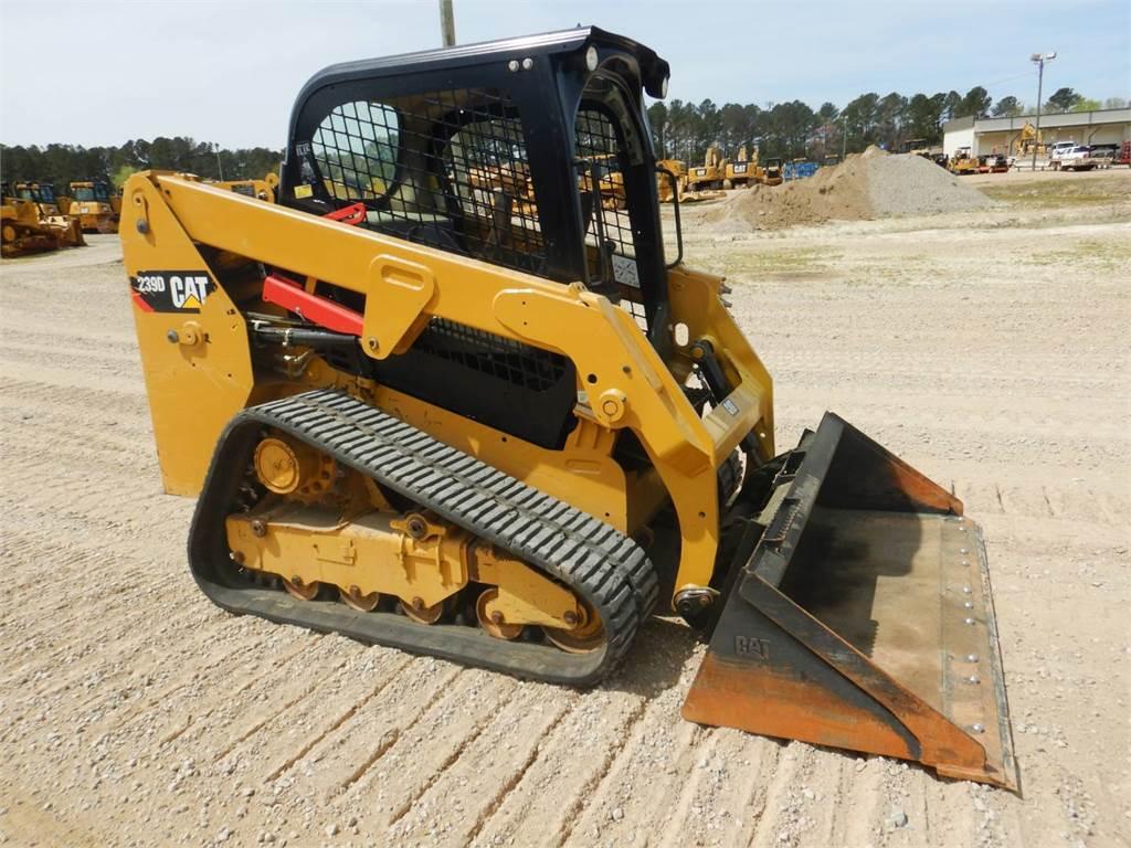 Caterpillar 239 D, Skid Steer Loaders, Construction