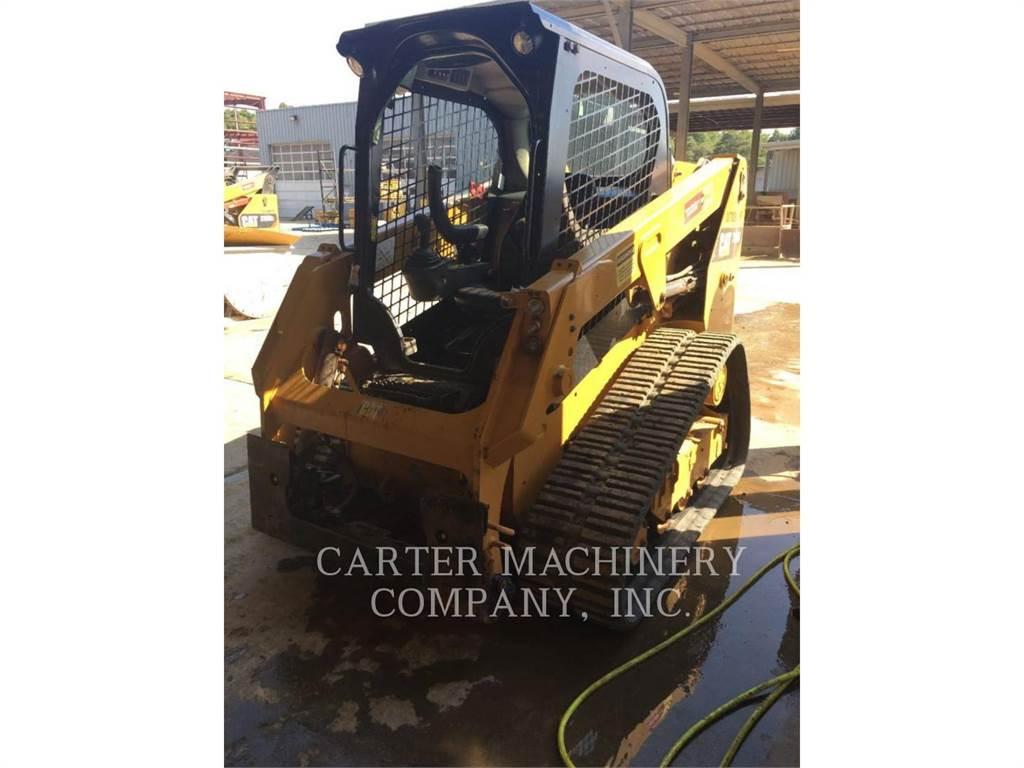 Caterpillar 239 D, Carregadoras de direcção deslizante, Equipamentos Construção