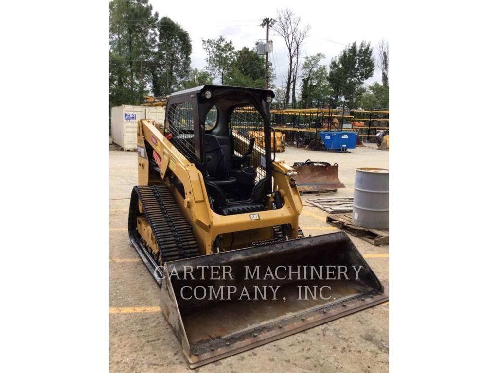 Caterpillar 239 D, chargeurs sur chaines, Équipement De Construction