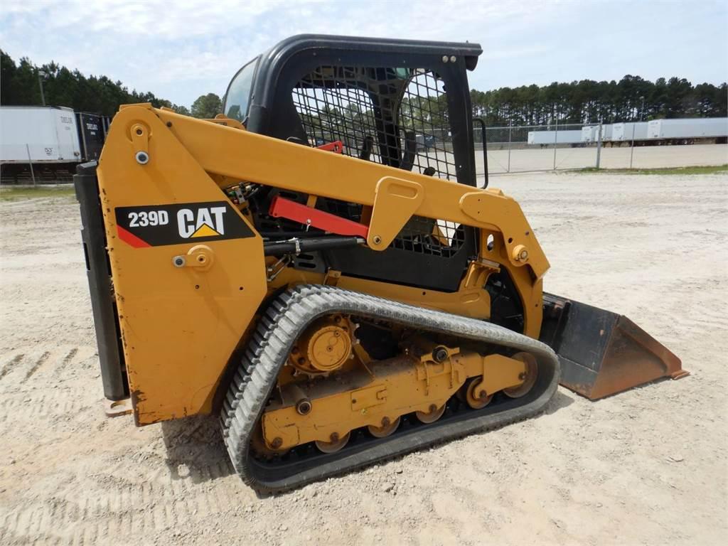 Caterpillar 239D, Skid Steer Loaders, Construction
