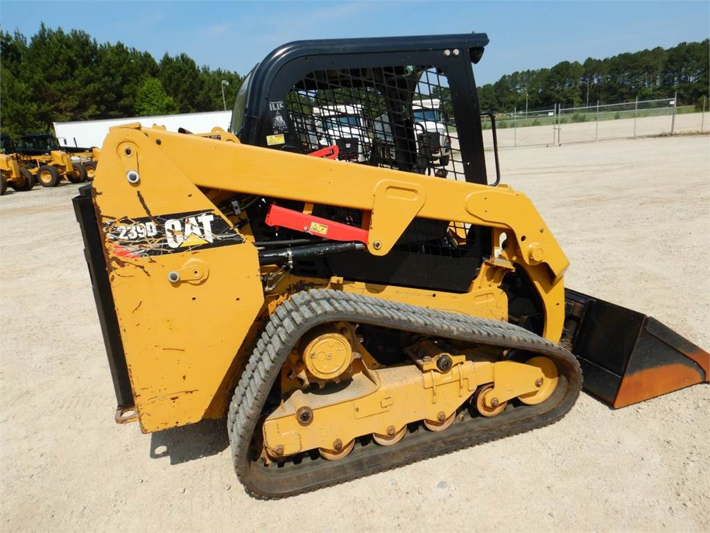 Caterpillar 239D, Skid Steer Loaders, Construction