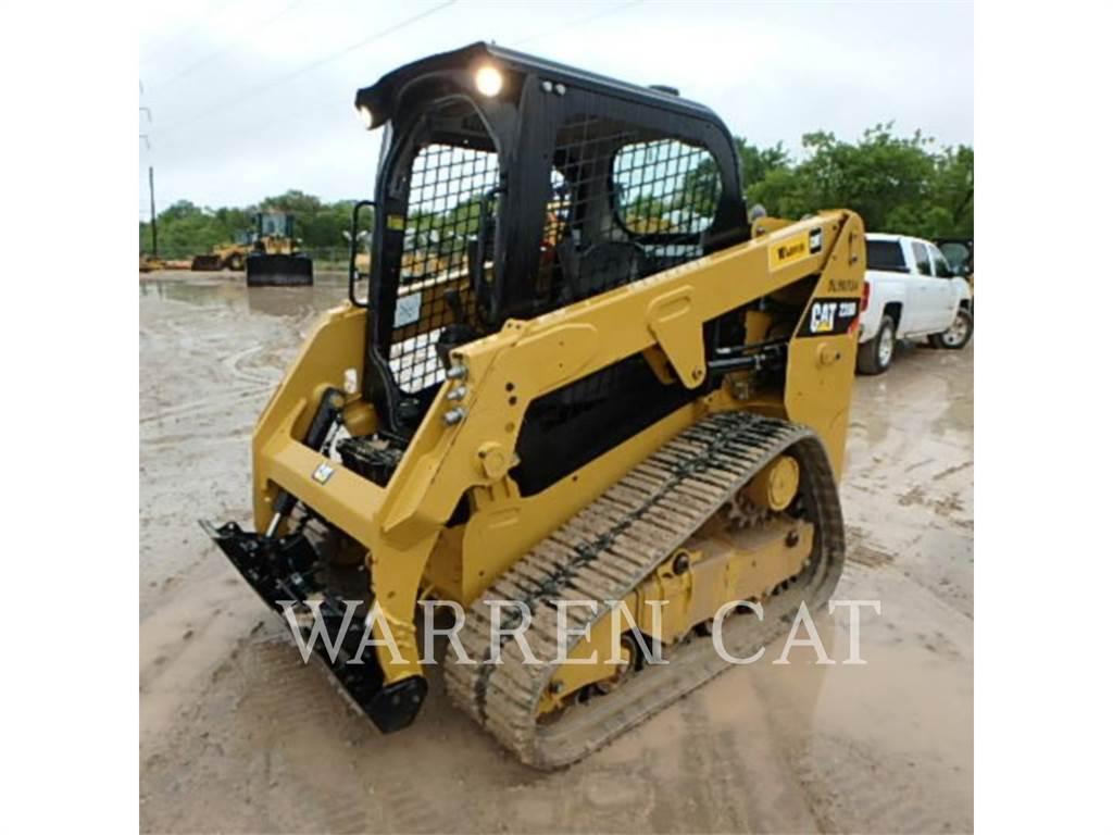 Caterpillar 239D, Carregadoras de direcção deslizante, Equipamentos Construção