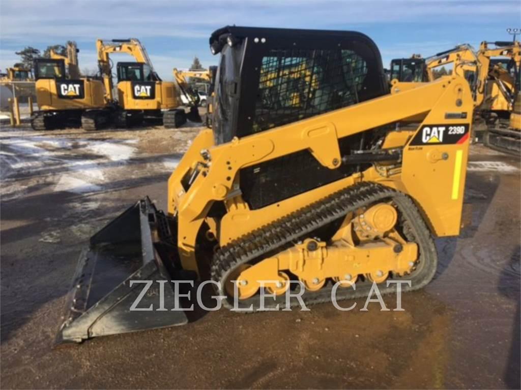 Caterpillar 239D, Mini incarcator, Constructii