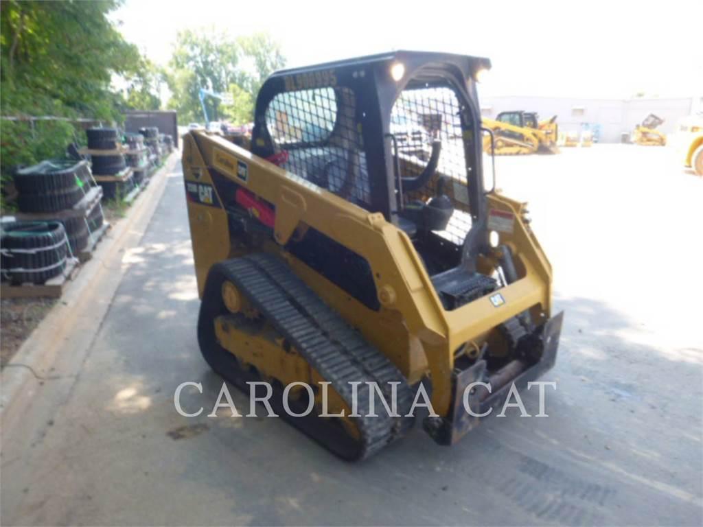 Caterpillar 239D, încărcătoare cu şenile, Constructii