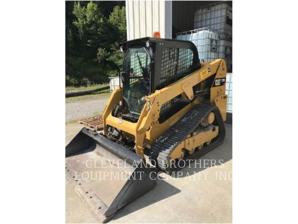 Caterpillar 239D, Excavadoras de cadenas, Construcción