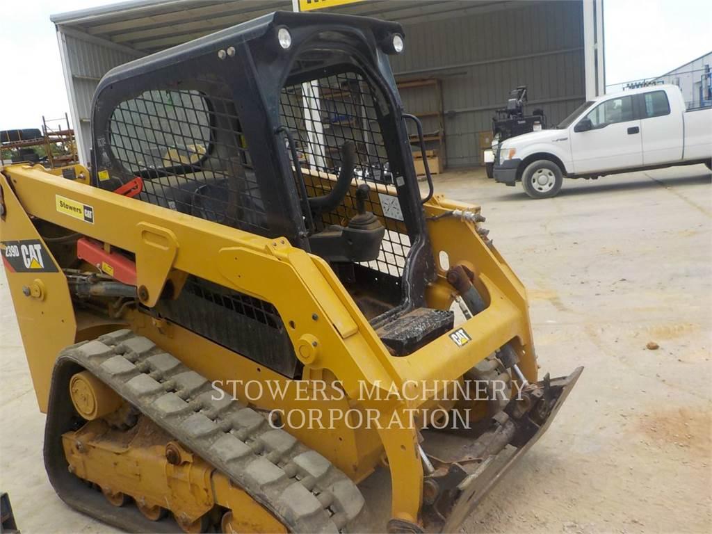 Caterpillar 239D, chargeurs sur chaines, Équipement De Construction