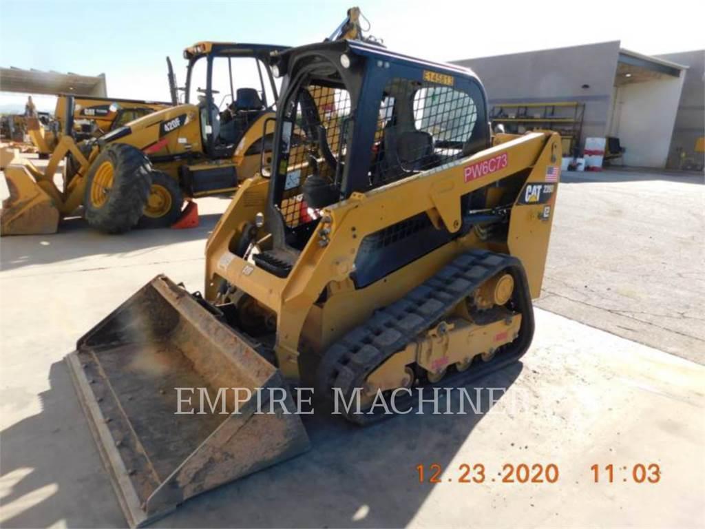 Caterpillar 239D、滑移装载机、建筑设备