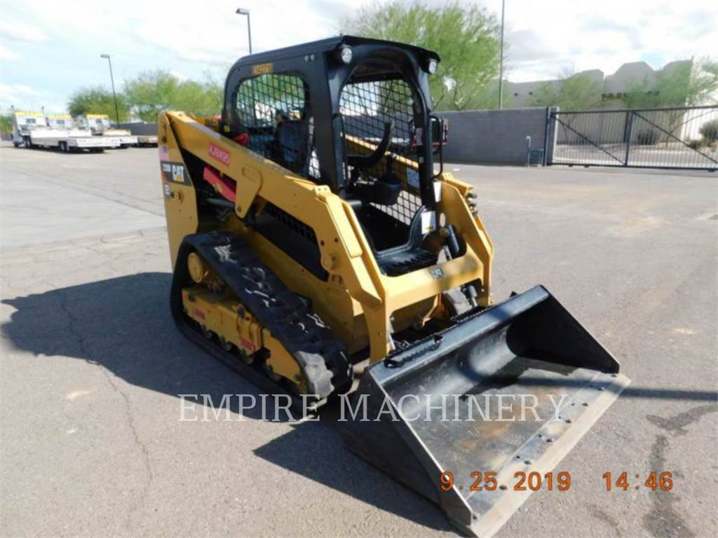 Caterpillar 239D, Chargeuse compacte, Équipement De Construction