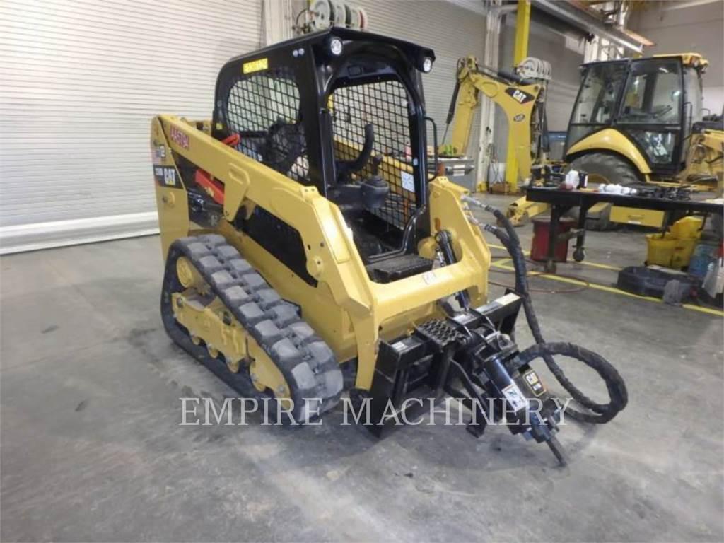 Caterpillar 239D、スキッドステアローダー、建設
