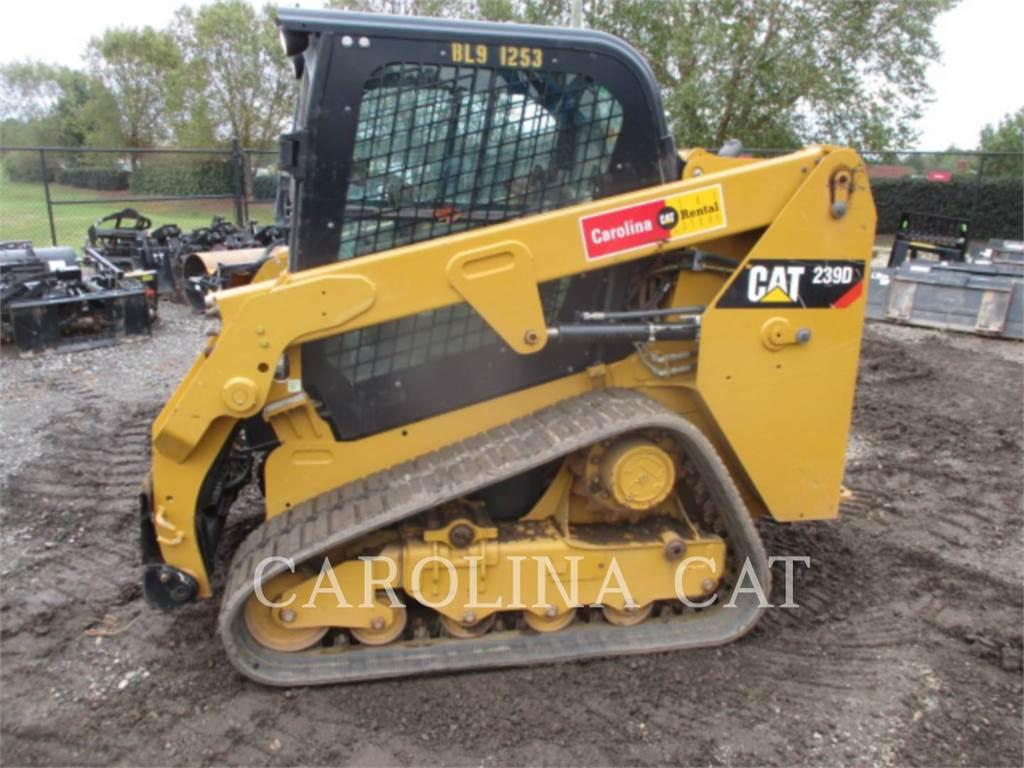 Caterpillar 239D CB, ładowarki gąsienicowe, Sprzęt budowlany