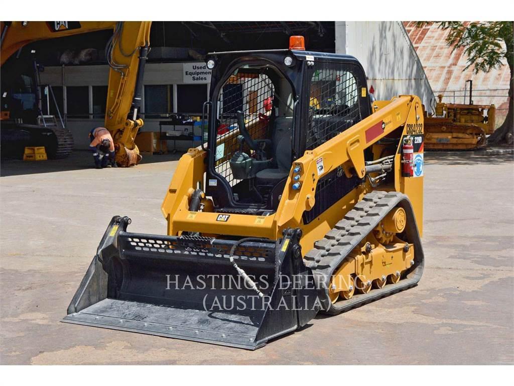 Caterpillar 239DLRC, Minicargadoras, Construcción