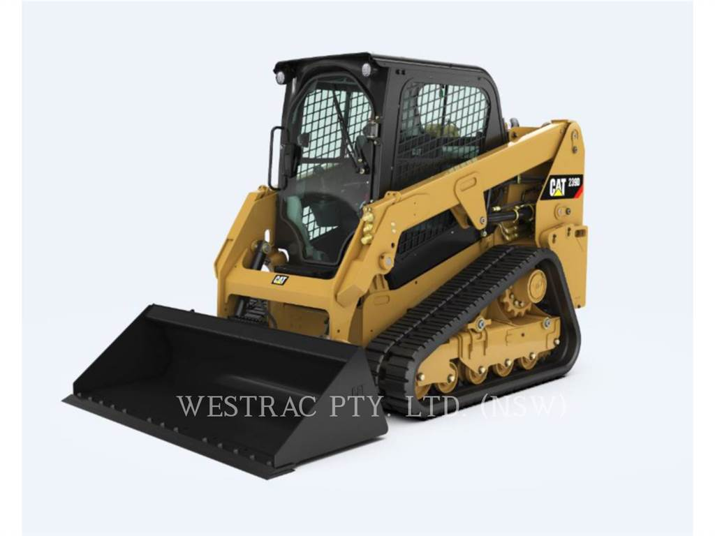 Caterpillar 239DLRC, Mini incarcator, Constructii