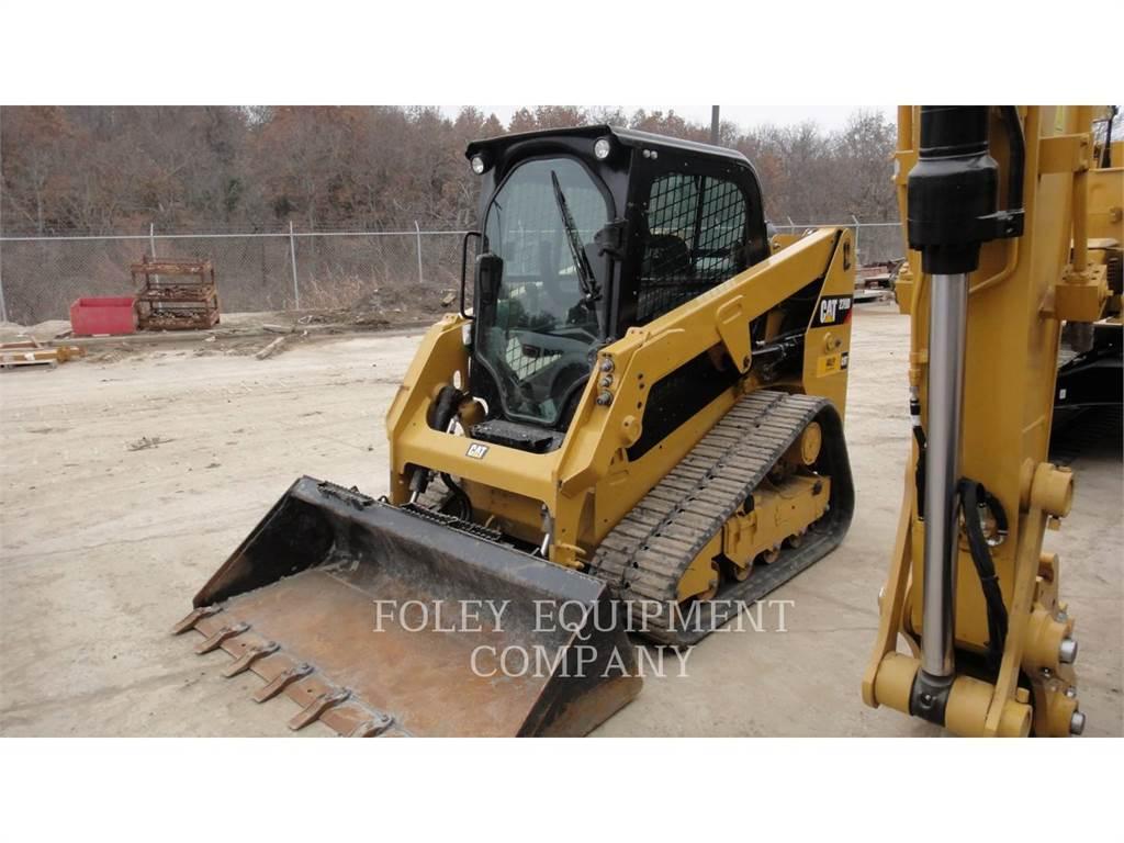 Caterpillar 239DSTD1CA, Mini incarcator, Constructii