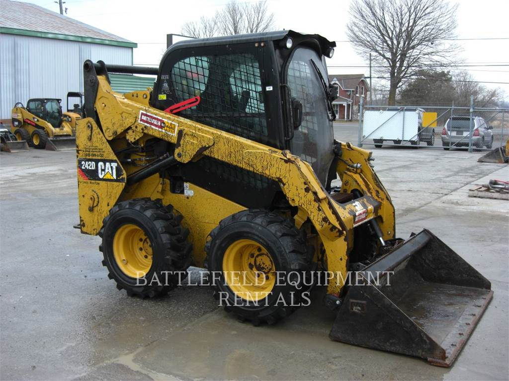 Caterpillar 242 D, Skid Steer Loaders, Construction
